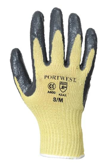 Portwest Kevlar® tenyérmártott nitril kesztyű