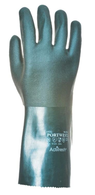 Portwest duplán mártott PVC védőkesztyű