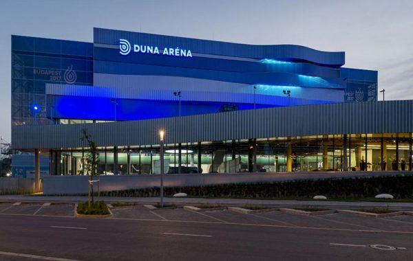 Duna Aréna építése