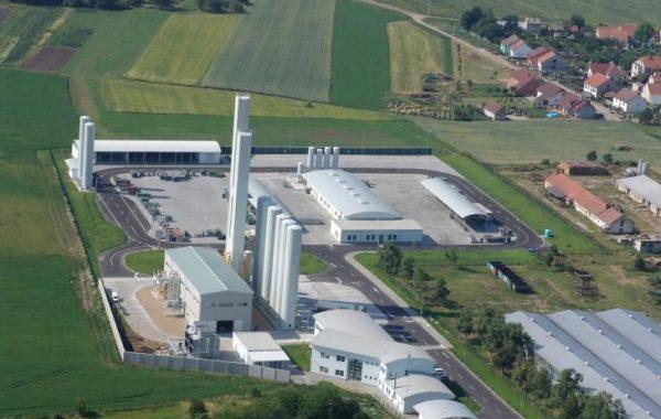 SIAD levegőbontó gyár építése